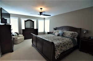 Upper level- master bedroom