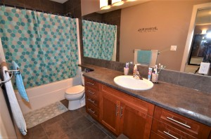 Upper level- 4 piece bathroom