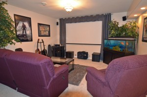 Family/Theatre Room