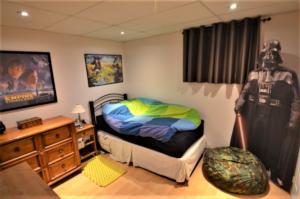 4th Bedroom- Basement
