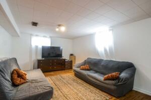 Family Room- Basement