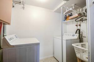 Laundry- Basement