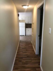 Fourplex Hallway