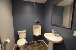 bathroom- basement
