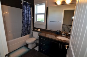 4 piece bathroom- upper level