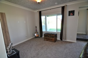 family room- basement